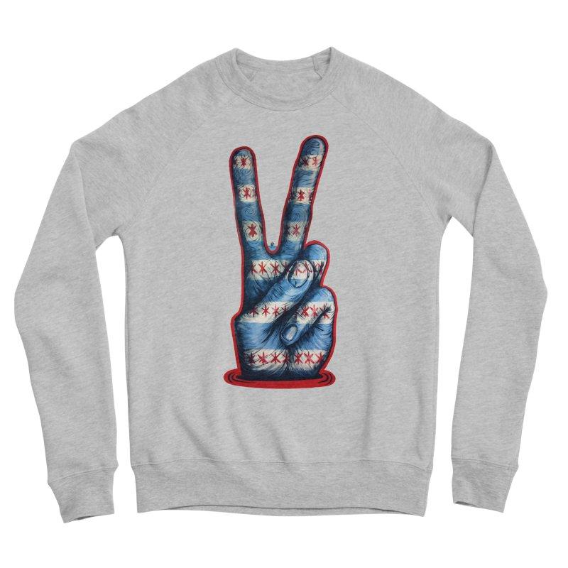 Vote for Peace Men's Sponge Fleece Sweatshirt by Stiky Shop