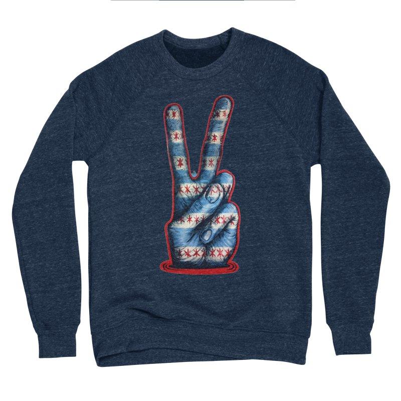 Vote for Peace Women's Sponge Fleece Sweatshirt by IDC Art House