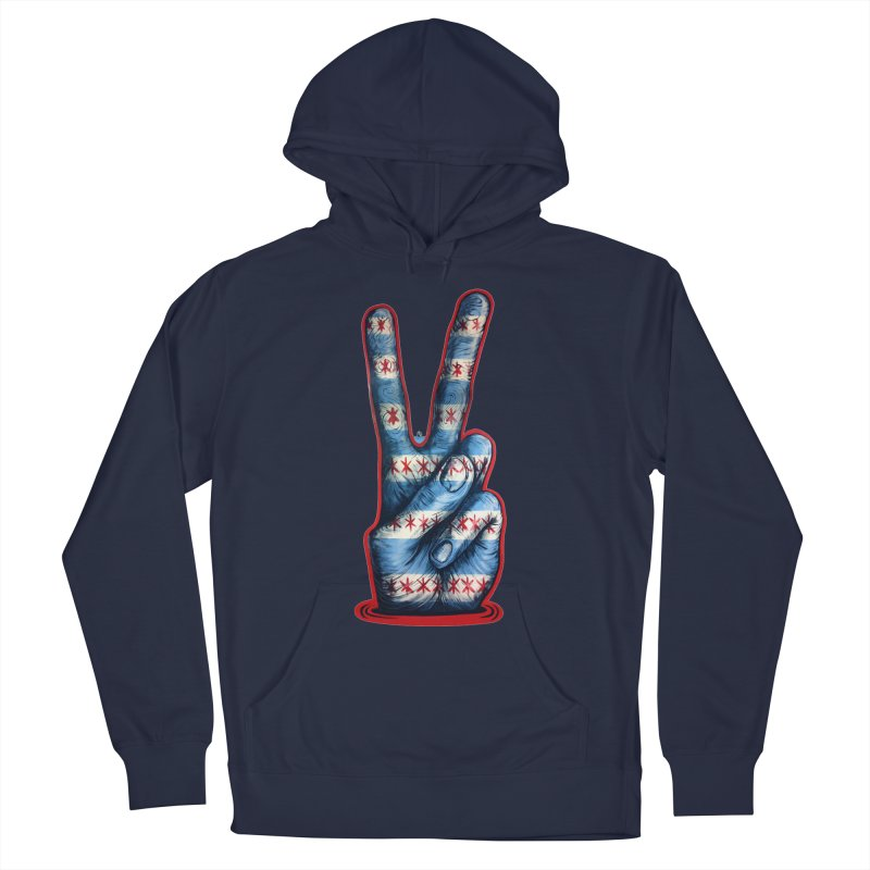 Vote for Peace Women's French Terry Pullover Hoody by IDC Art House