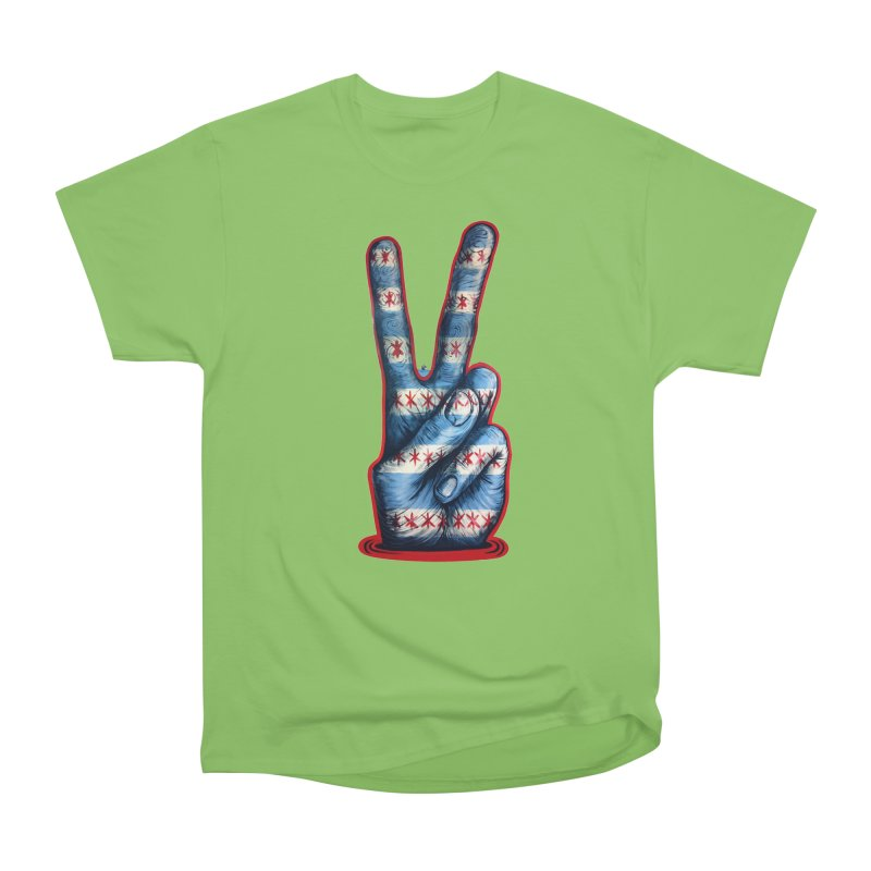 Vote for Peace Women's Heavyweight Unisex T-Shirt by IDC Art House
