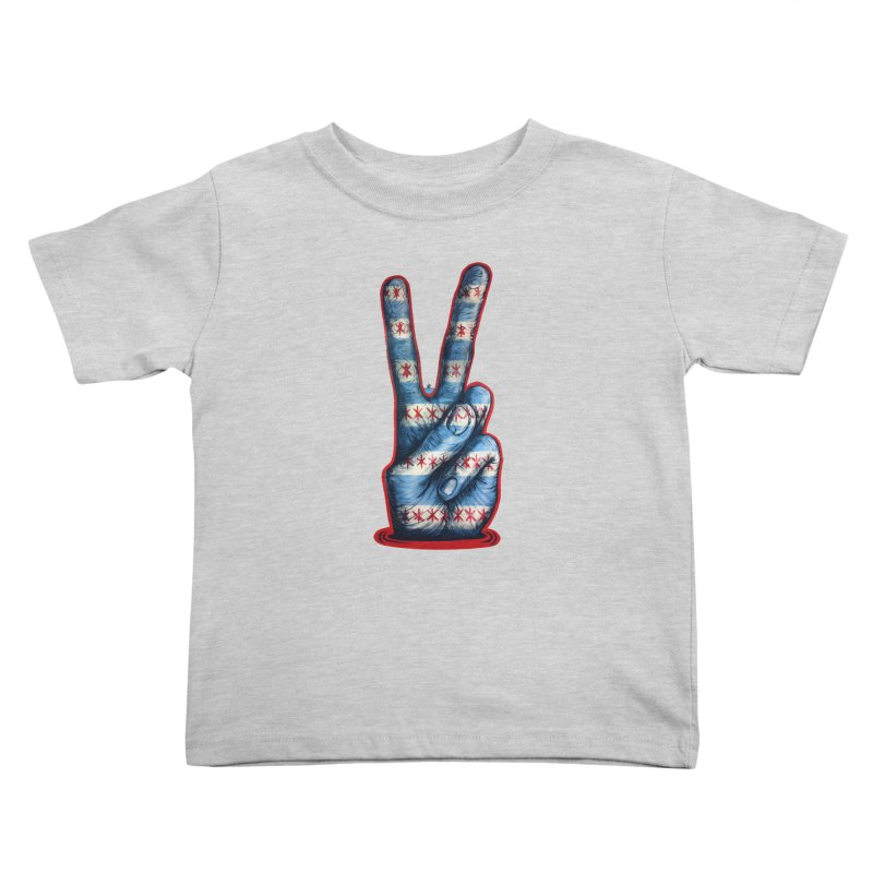 Vote for Peace Kids Toddler T-Shirt by Stiky Shop