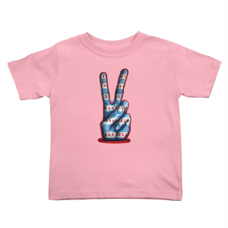 Vote for Peace Kids Toddler T-Shirt by IDC Art House