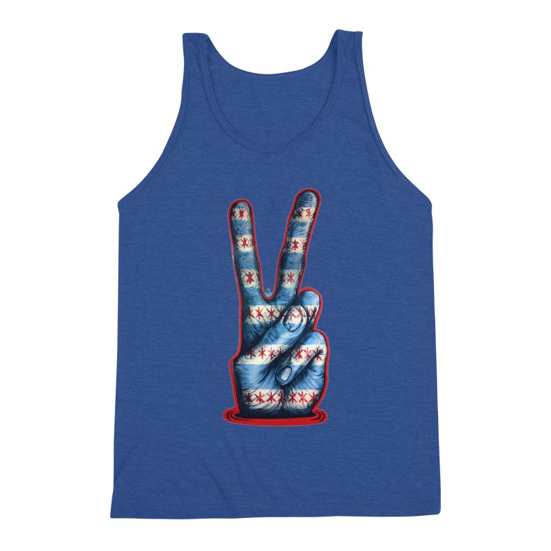 Vote for Peace Men's Triblend Tank by Stiky Shop