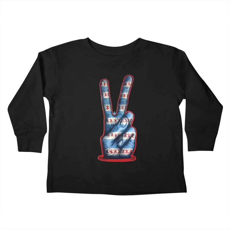 Vote for Peace Kids Toddler Longsleeve T-Shirt by Stiky Shop