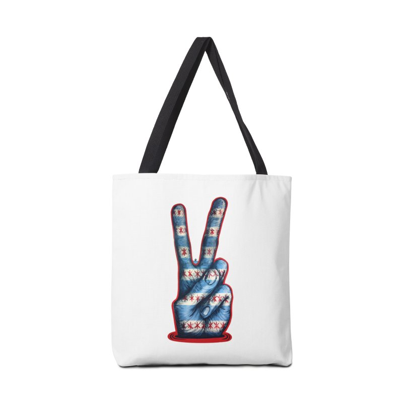 Vote for Peace Accessories Tote Bag Bag by Stiky Shop