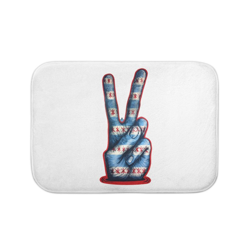 Vote for Peace Home Bath Mat by Stiky Shop