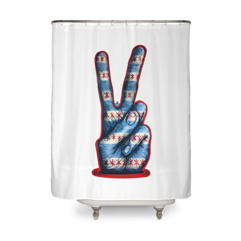 Vote for Peace Home Shower Curtain by Stiky Shop