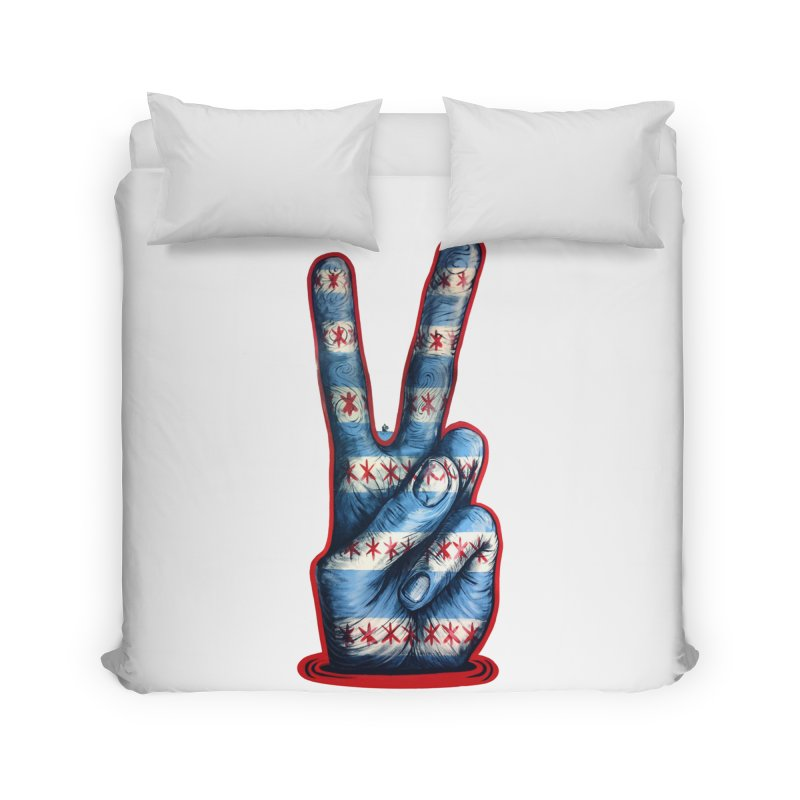 Vote for Peace Home Duvet by Stiky Shop