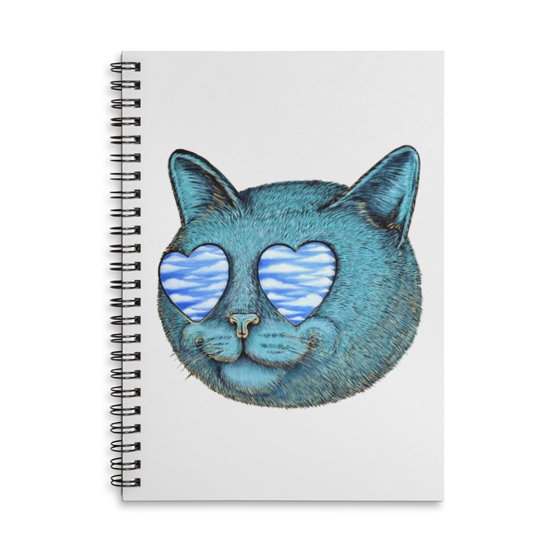 We are the cloud kickers Accessories Lined Spiral Notebook by Stiky Shop
