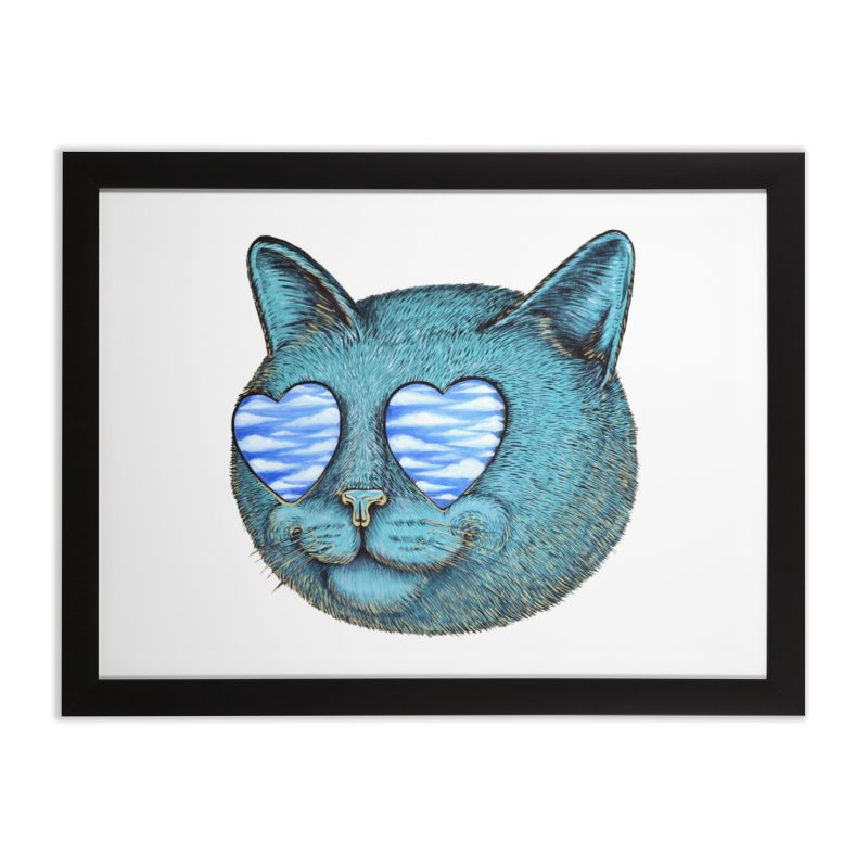 We are the cloud kickers Home Framed Fine Art Print by Stiky Shop