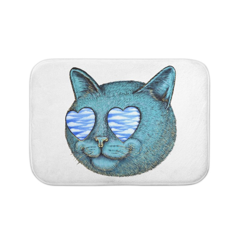 We are the cloud kickers Home Bath Mat by Stiky Shop