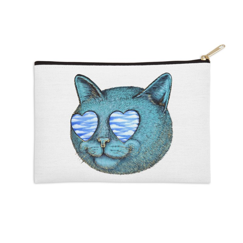 We are the cloud kickers Accessories Zip Pouch by Stiky Shop