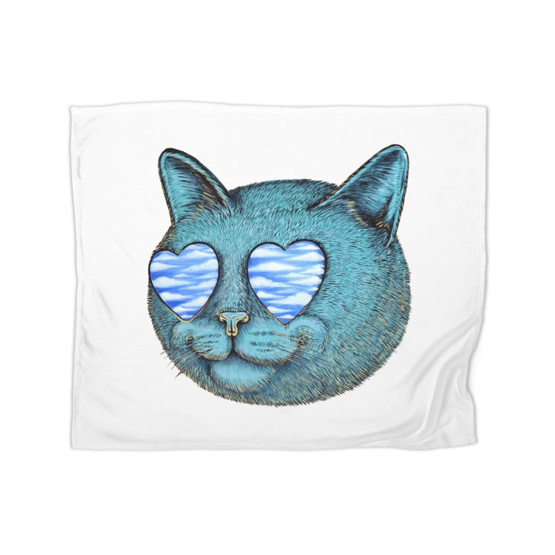 We are the cloud kickers Home Fleece Blanket Blanket by Stiky Shop