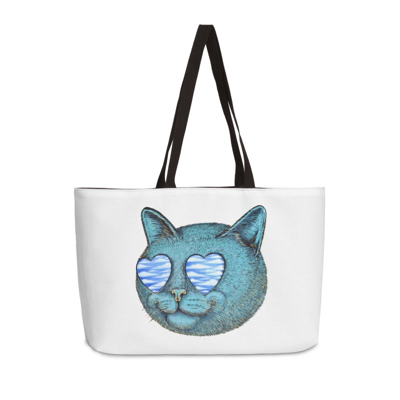 We are the cloud kickers Accessories Weekender Bag Bag by Stiky Shop