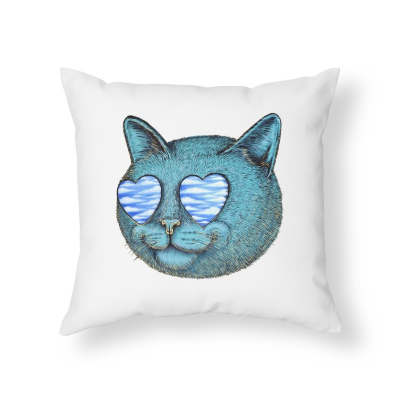 We are the cloud kickers Home Throw Pillow by Stiky Shop