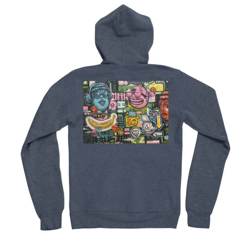 Friends forever is the truth to love Women's Sponge Fleece Zip-Up Hoody by Stiky Shop