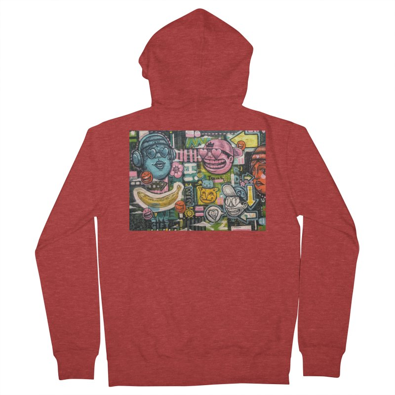 Friends forever is the truth to love Men's French Terry Zip-Up Hoody by Stiky Shop