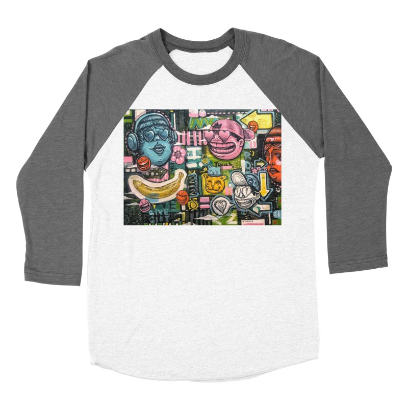 Friends forever is the truth to love Men's Baseball Triblend Longsleeve T-Shirt by Stiky Shop