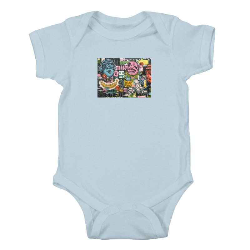 Friends forever is the truth to love Kids Baby Bodysuit by Stiky Shop
