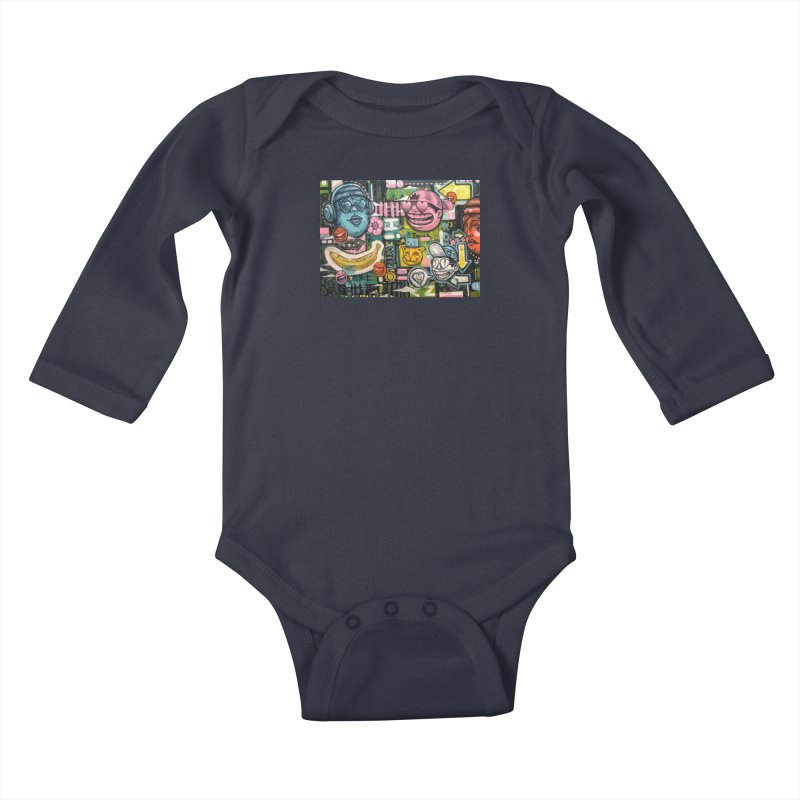Friends forever is the truth to love Kids Baby Longsleeve Bodysuit by Stiky Shop