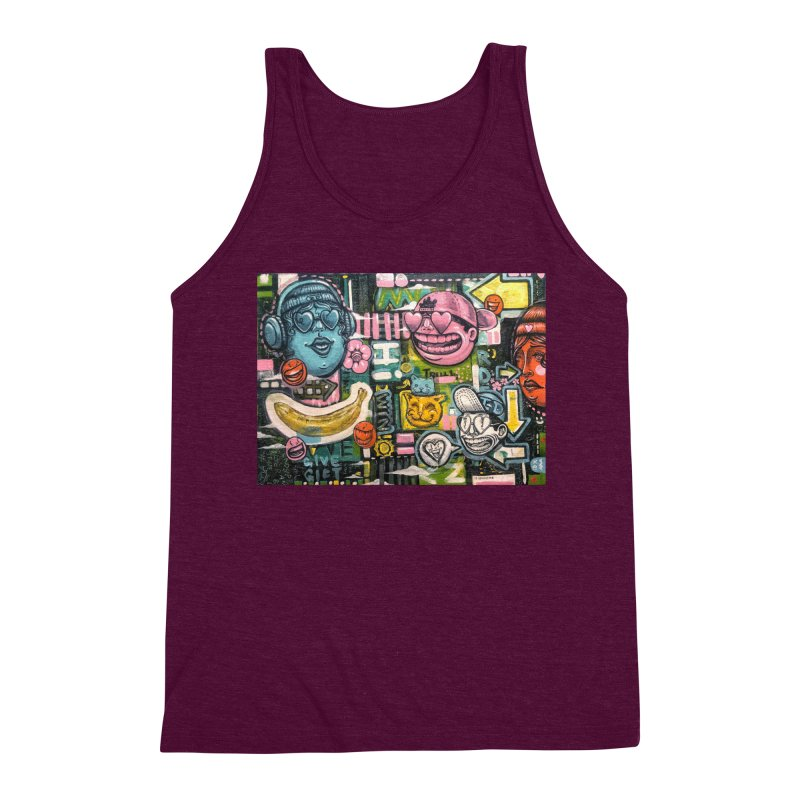 Friends forever is the truth to love Men's Triblend Tank by Stiky Shop