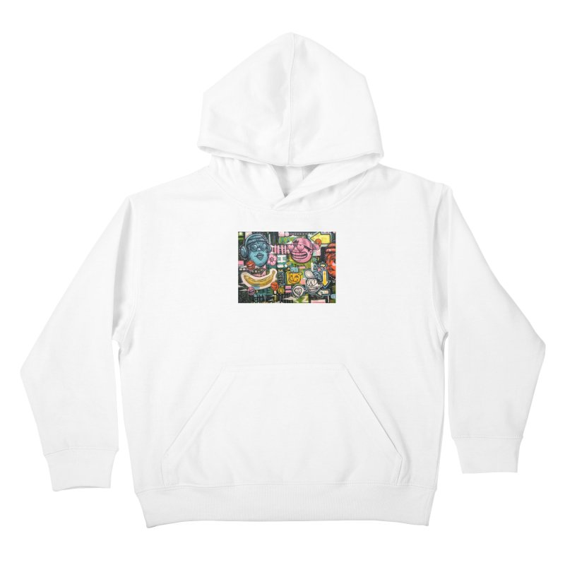 Friends forever is the truth to love Kids Pullover Hoody by Stiky Shop