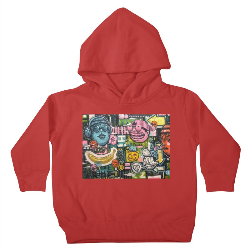 Friends forever is the truth to love Kids Toddler Pullover Hoody by Stiky Shop