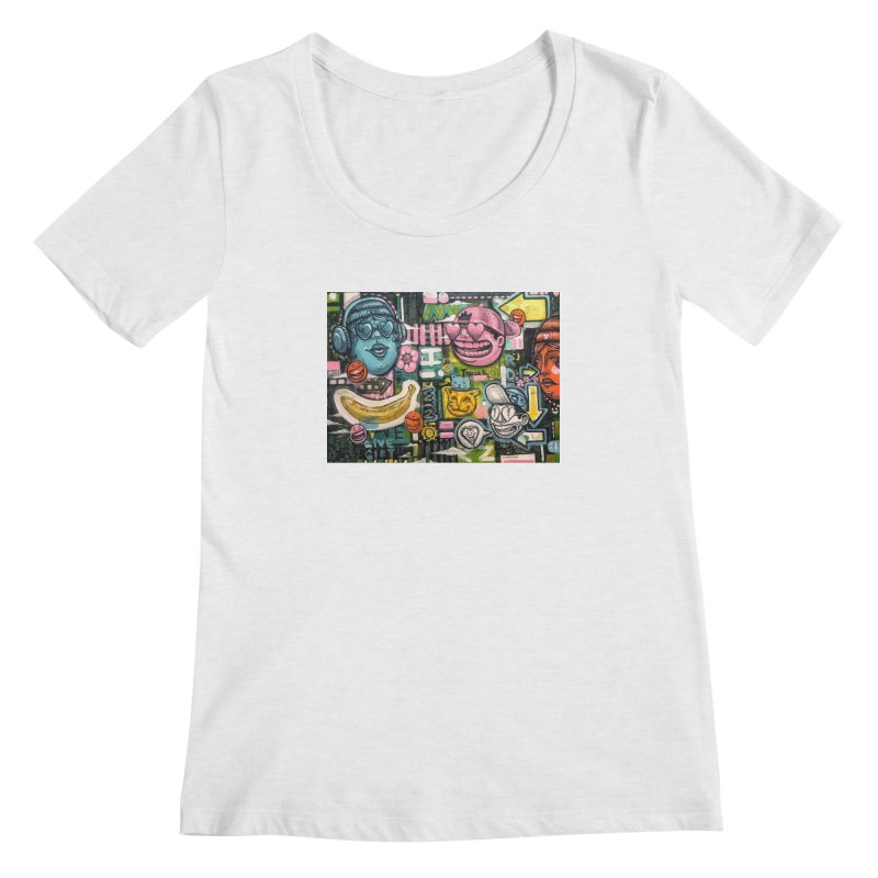 Friends forever is the truth to love Women's Regular Scoop Neck by Stiky Shop