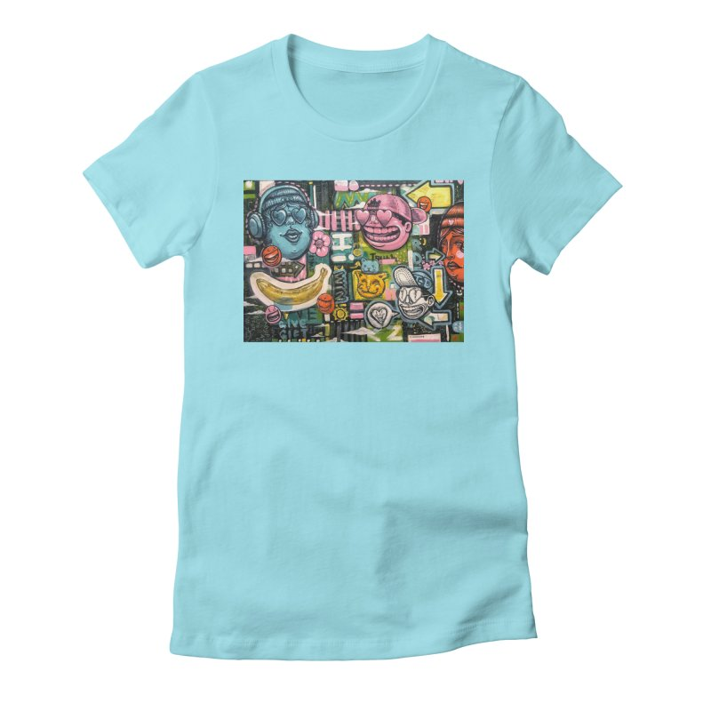 Friends forever is the truth to love Women's Fitted T-Shirt by Stiky Shop
