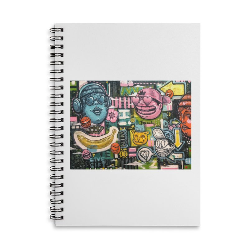 Friends forever is the truth to love Accessories Lined Spiral Notebook by Stiky Shop