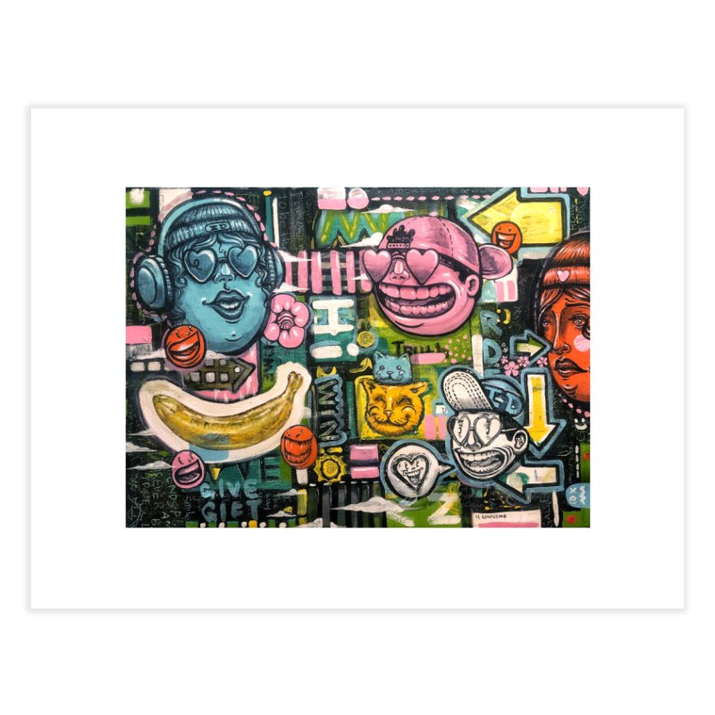 Friends forever is the truth to love Home Fine Art Print by Stiky Shop