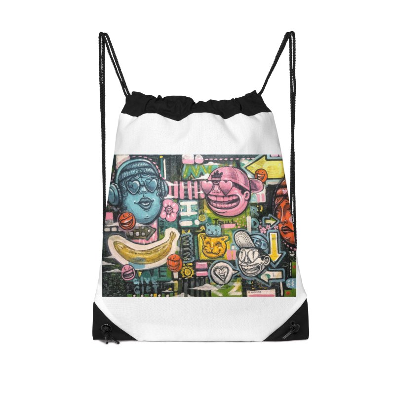 Friends forever is the truth to love Accessories Drawstring Bag Bag by Stiky Shop