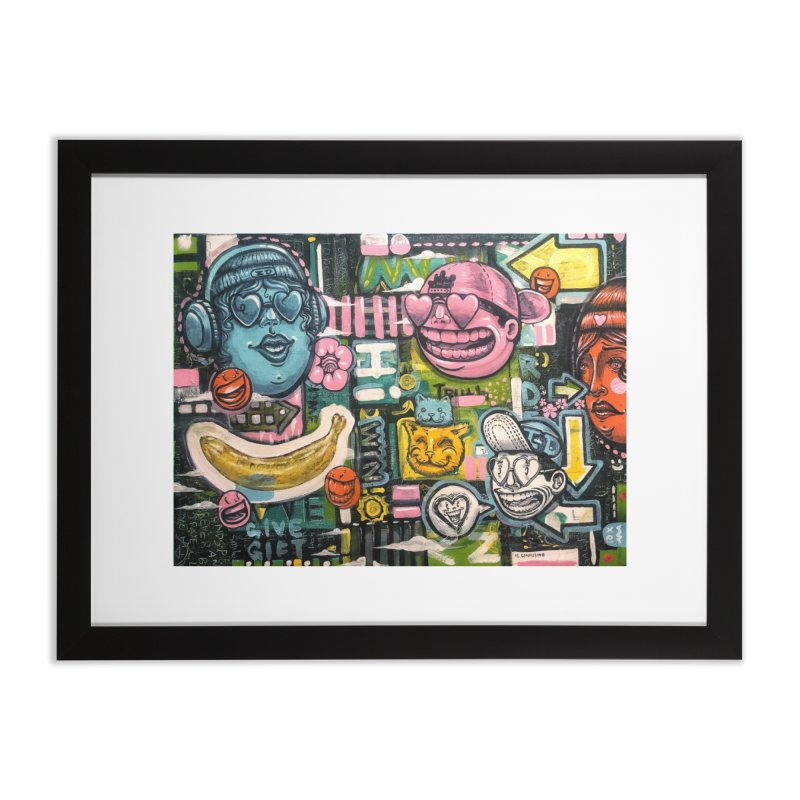 Friends forever is the truth to love Home Framed Fine Art Print by Stiky Shop