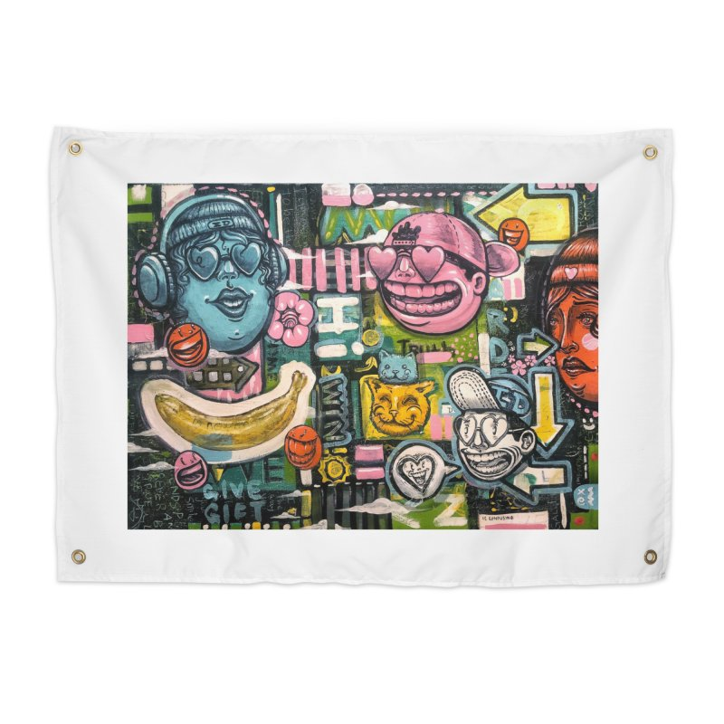 Friends forever is the truth to love Home Tapestry by Stiky Shop