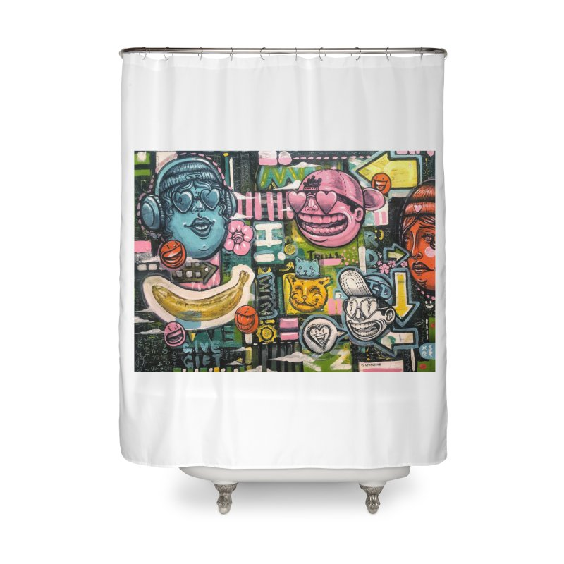 Friends forever is the truth to love Home Shower Curtain by Stiky Shop