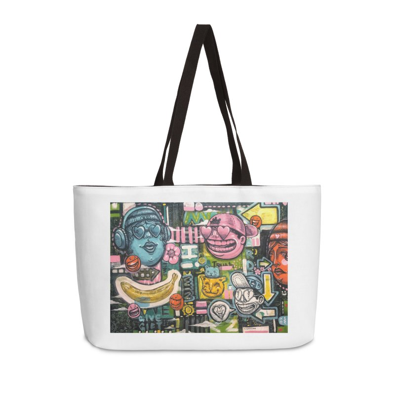 Friends forever is the truth to love Accessories Weekender Bag Bag by Stiky Shop
