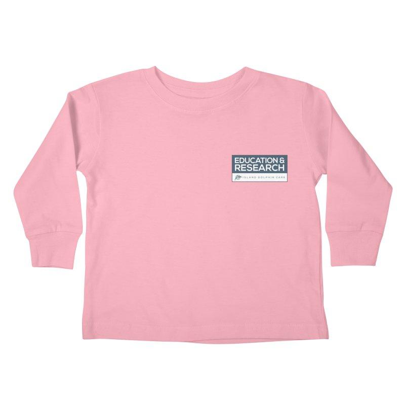 IDC Education & Research Kids Toddler Longsleeve T-Shirt by #MaybeYouMatter