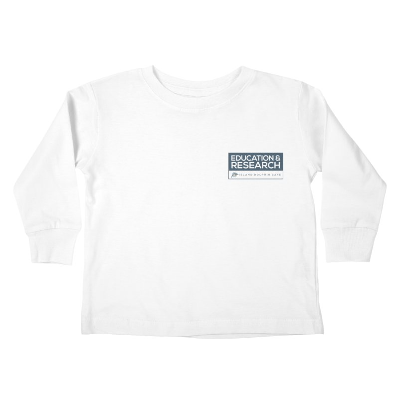 IDC Education & Research Kids Toddler Longsleeve T-Shirt by #MaybeYouMatter