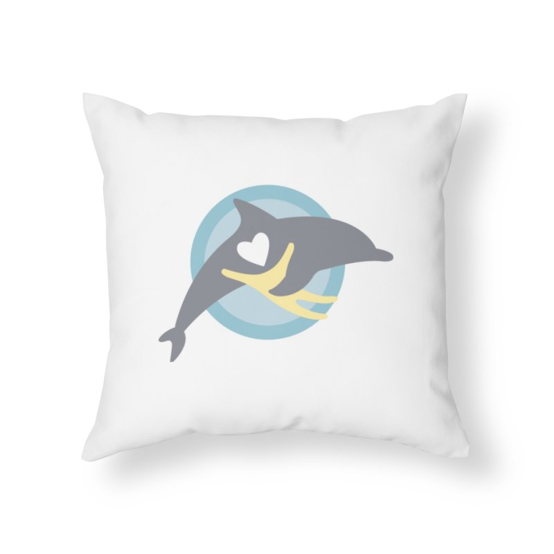 IDC Goods Home Throw Pillow by #MaybeYouMatter