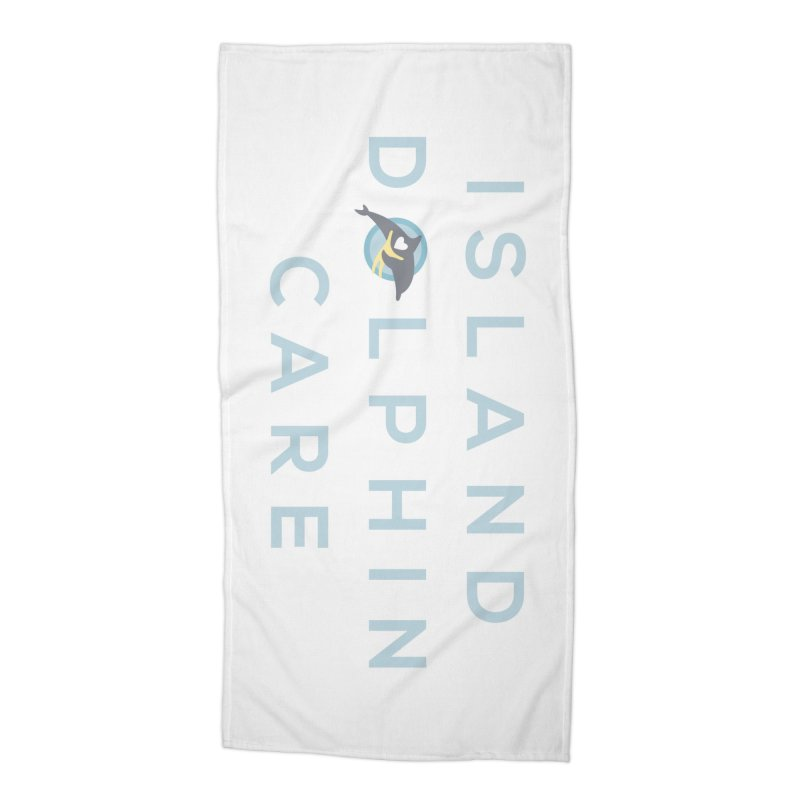 Island Dolphin Care - More Stuff Accessories Beach Towel by #MaybeYouMatter