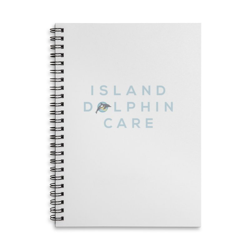 Island Dolphin Care - More Stuff Accessories Notebook by #MaybeYouMatter