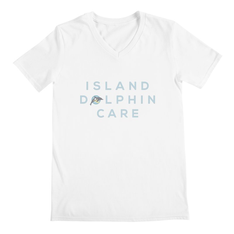 Island Dolphin Care - More Stuff Men's V-Neck by #MaybeYouMatter