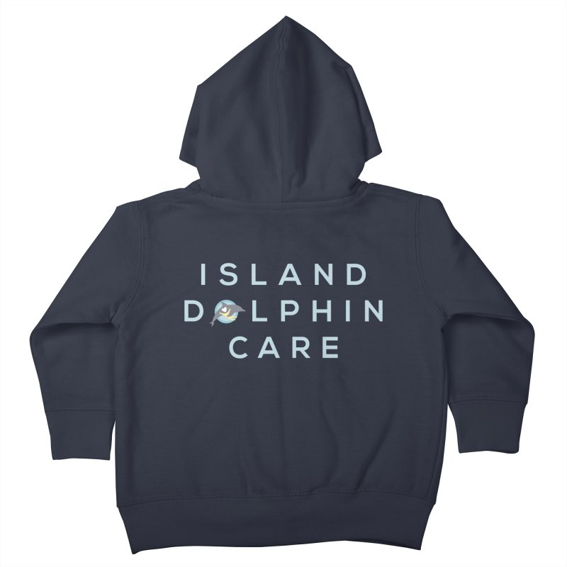 Island Dolphin Care - More Stuff Kids Toddler Zip-Up Hoody by #MaybeYouMatter