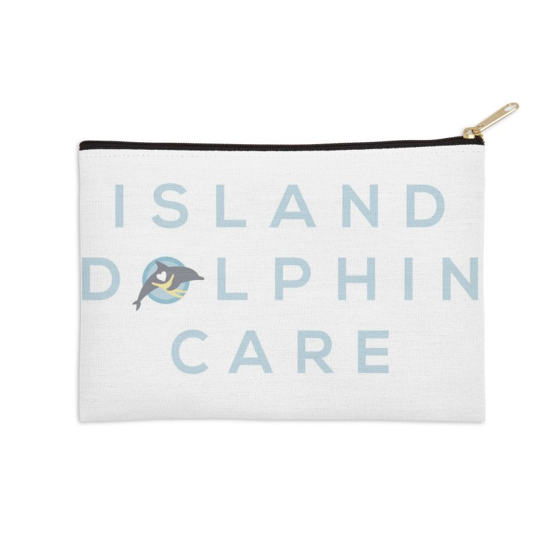 Island Dolphin Care - More Stuff Accessories Zip Pouch by #MaybeYouMatter