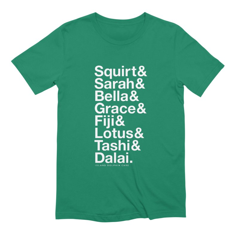 The Crew - White Font Men's T-Shirt by #MaybeYouMatter
