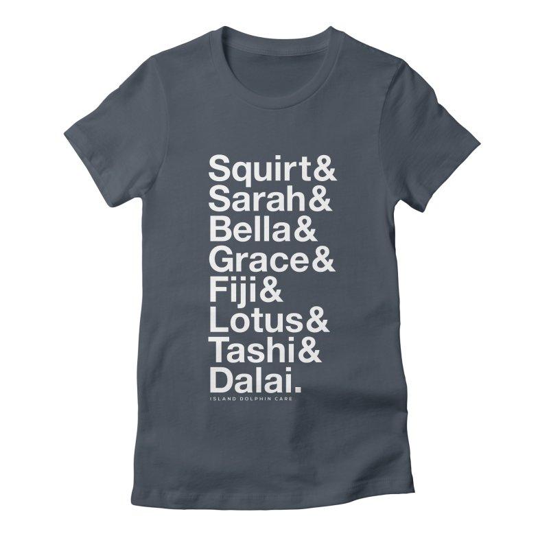 The Crew - White Font Women's T-Shirt by #MaybeYouMatter