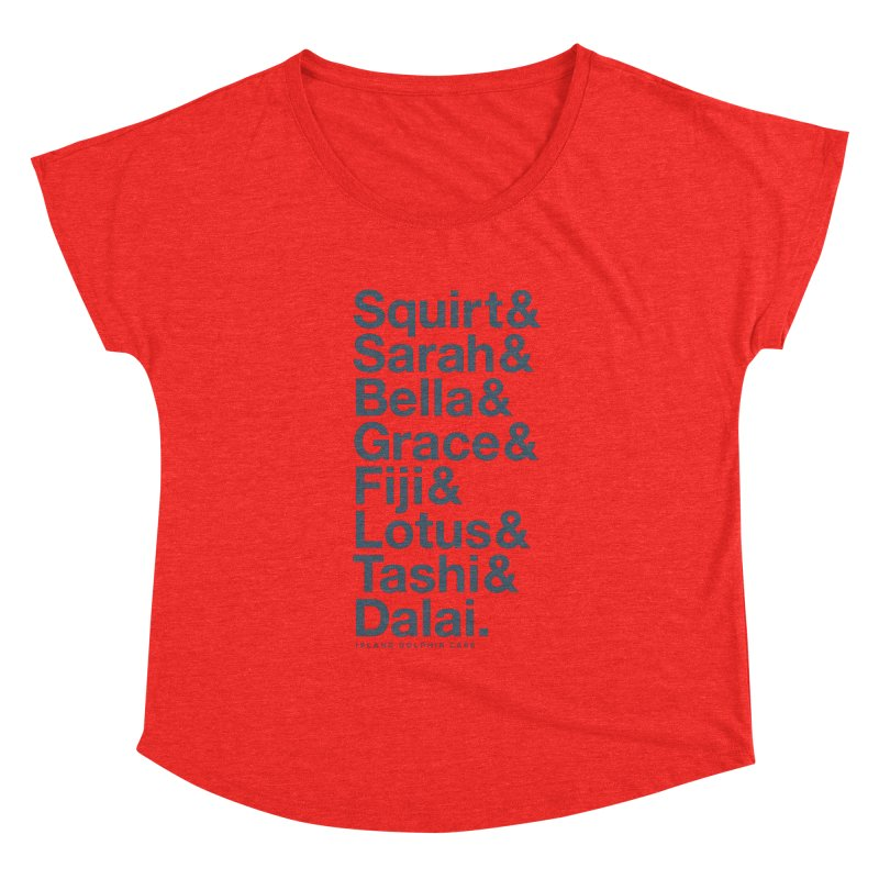 The Crew - Dark Font Women's Scoop Neck by #MaybeYouMatter