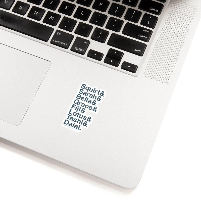 The Crew - Dark Font Accessories Sticker by #MaybeYouMatter