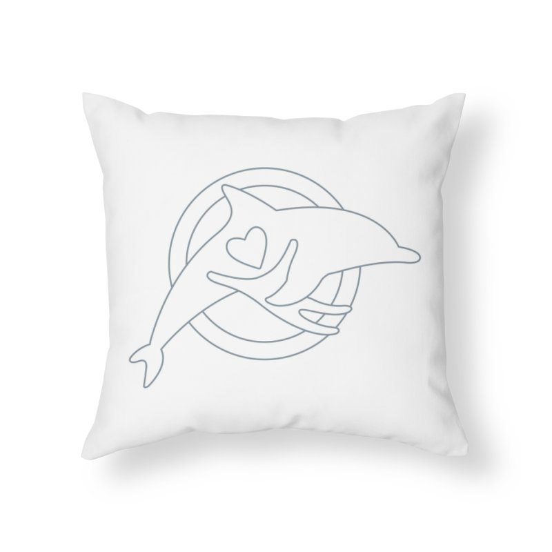 The Outliner - Stuff Home Throw Pillow by #MaybeYouMatter