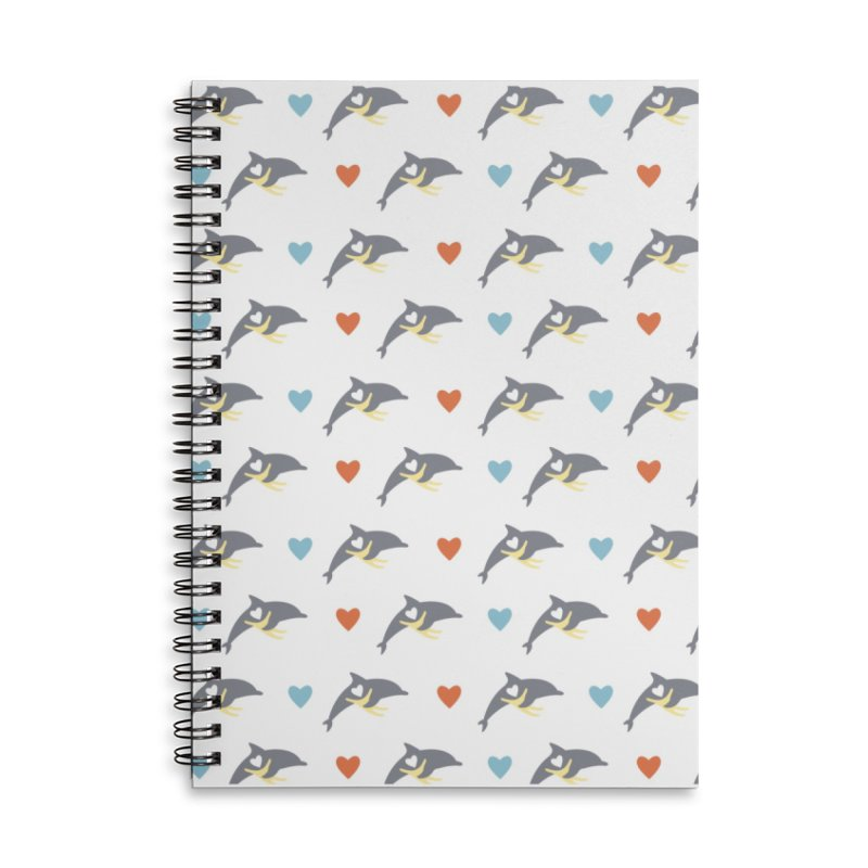 Wall of Dolphin Accessories Notebook by #MaybeYouMatter